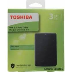 DISCO DURO EXTERNO TOSHIBA 3TB CANVIO BASICS 2.5