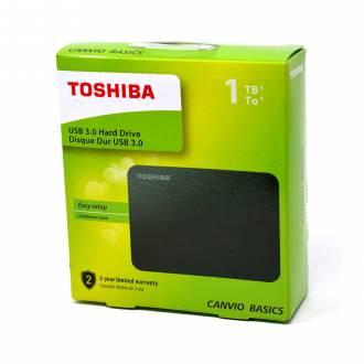 DISCO DURO EXTERNO TOSHIBA 1TB CANVIO BASICS 2.5