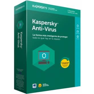 ANTIVIRUS KASPERSKY 2018 - 1 LICENCIA