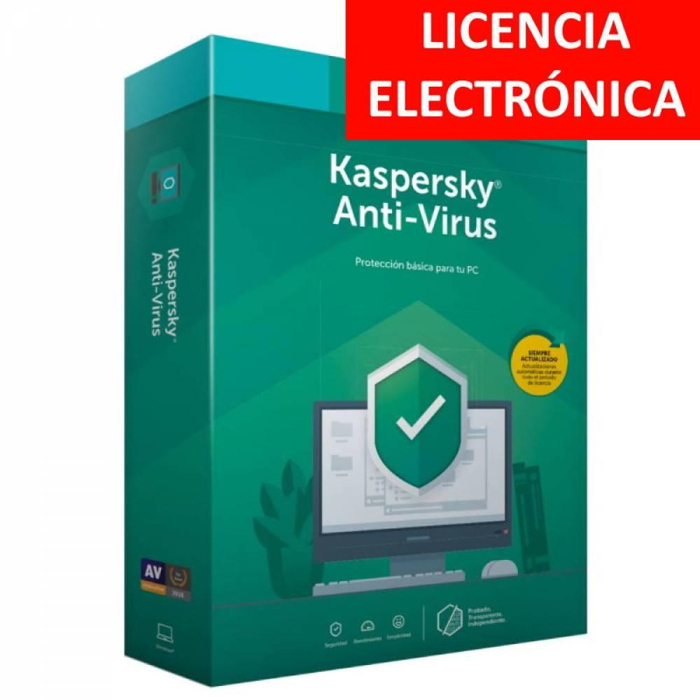 ANTIVIRUS KASPERSKY 2020 - 1 LICENCIA ELECTRONICA