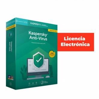 ANTIVIRUS KASPERSKY 2021 - 3 LICENCIAS - RENOVACION - LICENCIA ELECTRONICA