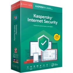 ANTIVIRUS KASPERSKY 2019 INTERNET SECURITY - 3 USUARIOS