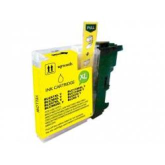 COMPATIBLE CON BROTHER DCP145 - 165C AMARILLO 10.6 ml. (LC1100YCOMP)