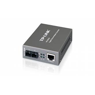 TP-LINK MC200CM CONVERTIDOR MEDIO FIBRA 10/100/1000 RJ45 SC MULTIMODO