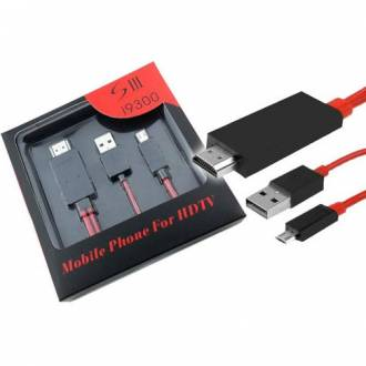 CABLE MHL USB A HDMI PARA SAMSUNG GALAXY S3/NOTE 3/S5