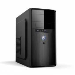 PC CASE MPC-24 CAJA mATX NEGRA 500W 2xUSB3.0
