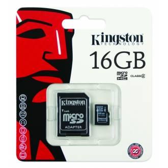 TOSHIBA/KINGSTON MICRO SD 16GB - CLASE 10