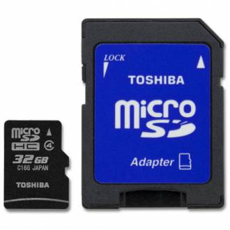 TOSHIBA/KINGSTON MICRO SD 32GB CLASE 10