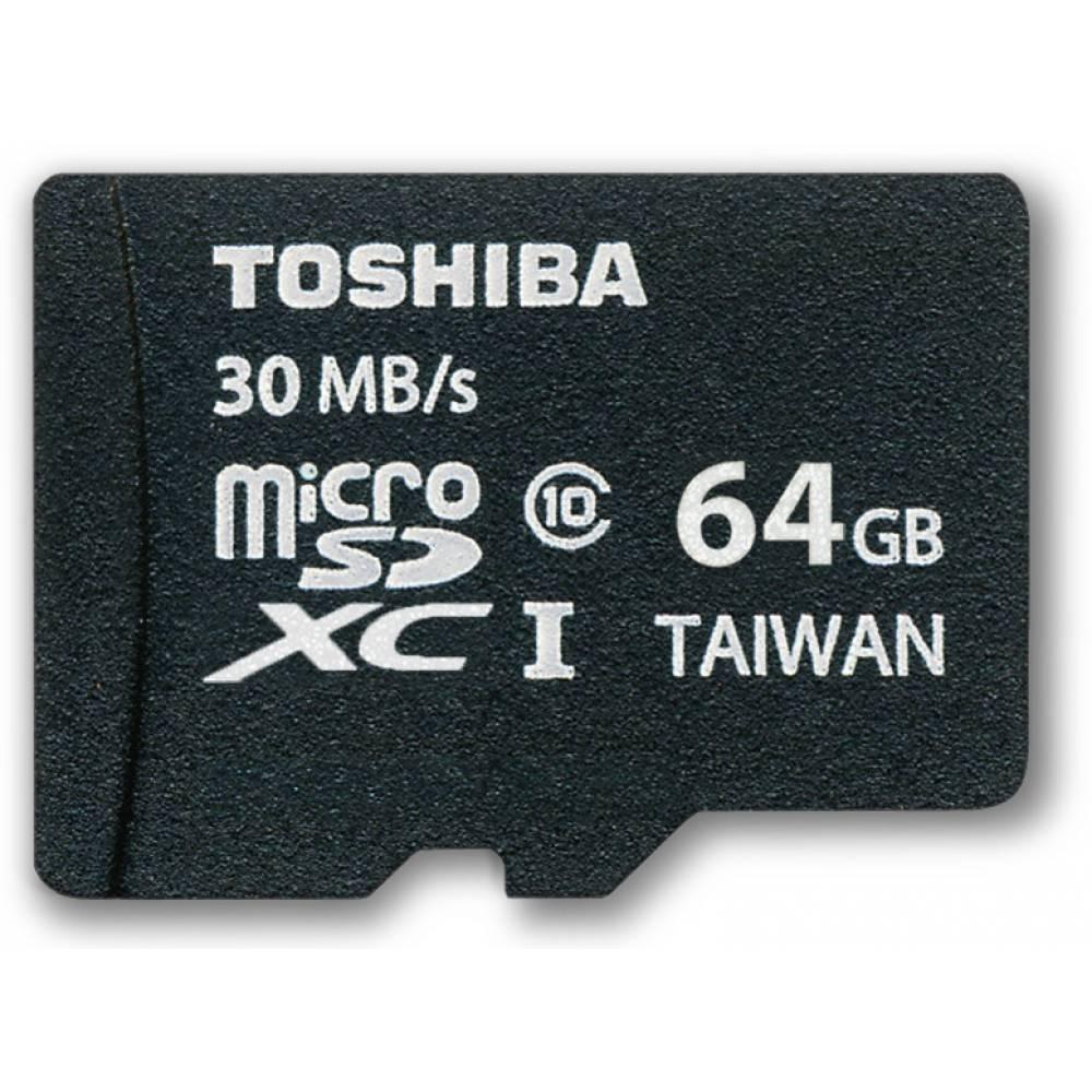 TOSHIBA/KINGSTON MICRO SD 64GB CLASE 10