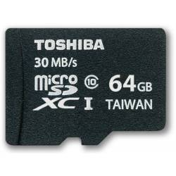 TOSHIBA/KINGSTON MICRO SD 64GB CLASE 10