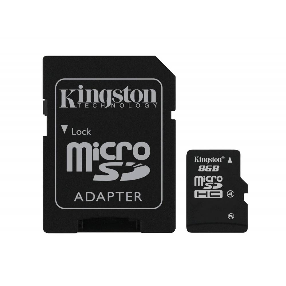 TOSHIBA/KINGSTON MICRO SD 8 GB