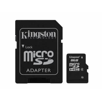 TOSHIBA/KINGSTON MICRO SD 8 GB
