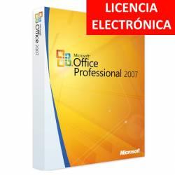 MICROSOFT OFFICE 2007 PROFESIONAL - LICENCIA ELECTRONICA (NO DVD/COA - SOLO CLAVE)