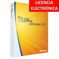 MICROSOFT OFFICE 2007 ULTIMATE - LICENCIA ELECTRONICA (NO DVD/COA - SOLO CLAVE)