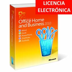 MICROSOFT OFFICE 2010 HOGAR Y EMPRESAS - LICENCIA ELECTRONICA (NO DVD/COA - SOLO CLAVE)