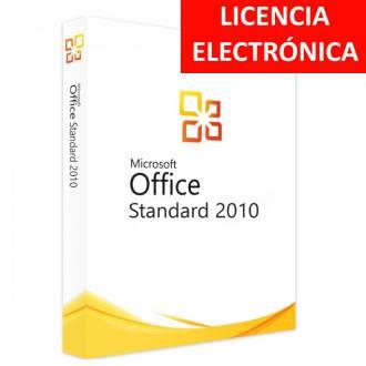 MICROSOFT OFFICE 2010 STANDARD - LICENCIA ELECTRONICA (NO DVD/COA - SOLO CLAVE)