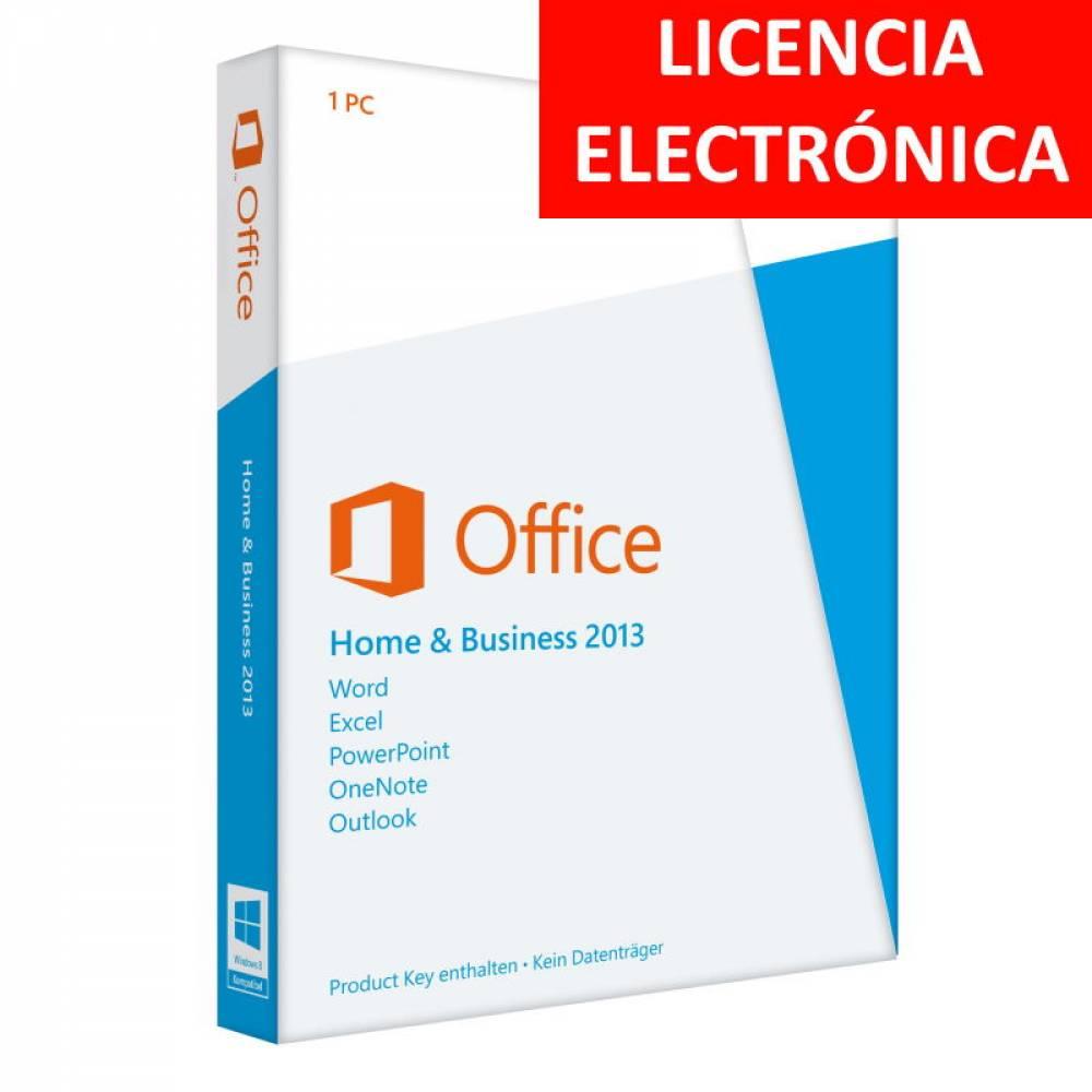 MICROSOFT OFFICE 2013 HOGAR Y EMPRESAS - LICENCIA ELECTRONICA (NO DVD/COA - SOLO CLAVE)