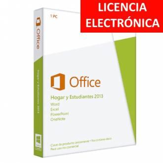MICROSOFT OFFICE 2013 HOGAR Y ESTUDIANTES - LICENCIA ELECTRONICA (NO DVD/COA - SOLO CLAVE)