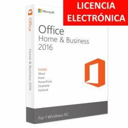MICROSOFT OFFICE 2016 HOGAR Y EMPRESAS - LICENCIA ELECTRONICA (NO DVD/COA - SOLO CLAVE)