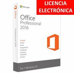 MICROSOFT OFFICE 2016 PROFESIONAL - LICENCIA ELECTRONICA (NO DVD/COA - SOLO CLAVE)