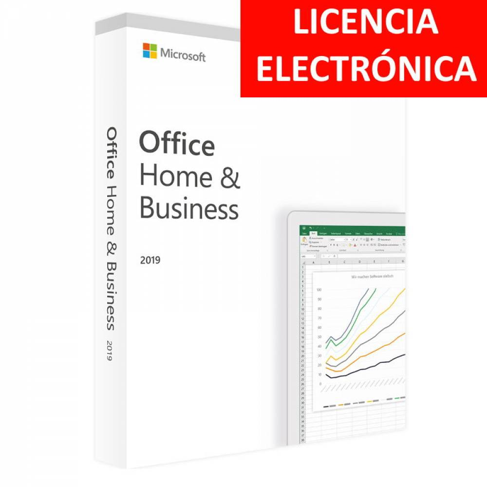 MICROSOFT OFFICE 2019 HOGAR Y EMPRESAS - LICENCIA ELECTRONICA (NO DVD)