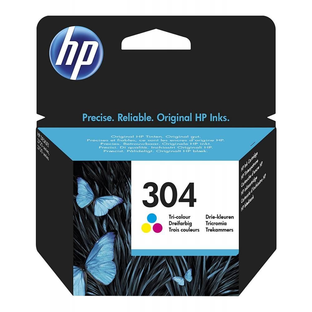 HP Nº 304 DeskJet 3720/3730 CABEZAL TRICOLOR - 300 PAG