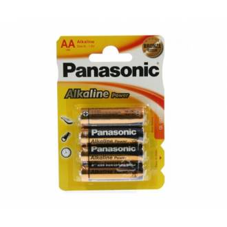 PANASONIC PACK 4 PILAS ALCALINAS AA LR06