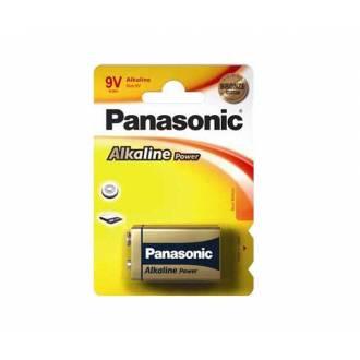PANASONIC PILA ALCALINA 9V 6LR61