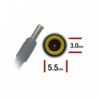 ALIMENTADOR ESPECIFICO 19V 4.74A - 5.5 x 3.0mm - 90 W (SAMSUNG - LG)