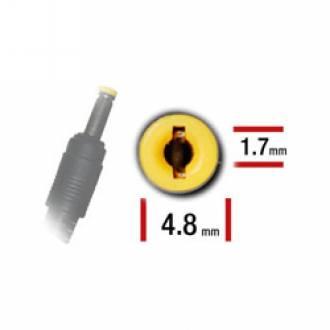 ALIMENTADOR ESPECIFICO 19.5V 1.58A - 4.0 x 1.7mm - 40 W HP MINI