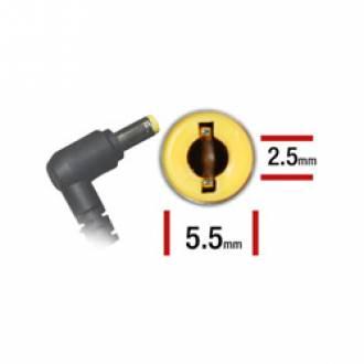 ALIMENTADOR ESPECIFICO 19.0 V 3.42A - 5.5 x 2.5mm - 65 W