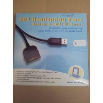 JP-503 PDA HANDSPRING VISOR DATASYNC CABLE USB PORT