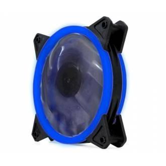 VENTILADOR 120X120 CM. CONEXION A PLACA 3/4 PIN LED AZUL