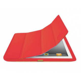 FUNDA SMART COVER PARA IPAD 2 / 3 ROJA