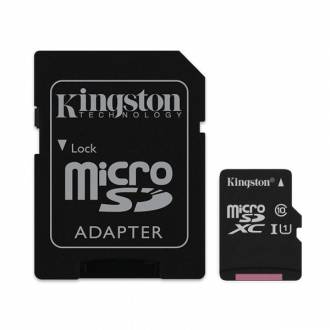 KINGSTON MICRO SD 128GB CLASE 10 UHS-I