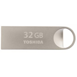 TOSHIBA PEN DRIVE 32GB USB 2.0 ACERO TIPO LLAVERO