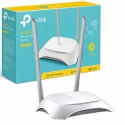 TP-LINK ROUTER WIFI 300MPBS 802.11nbg 2 ANTENAS FIJAS
