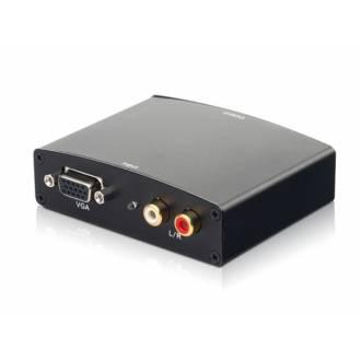 CONVERSOR ACTIVO VGA A HDMI CON AUDIO