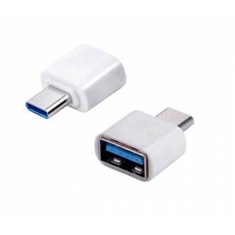 ADAPTADOR USB A HEMBRA---> USB TYPE-C MACHO OTG 20 cm