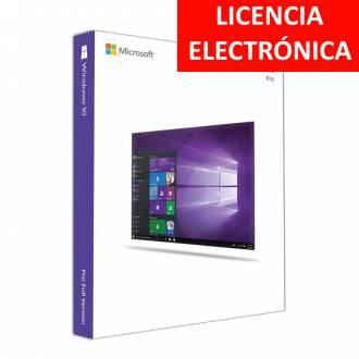MICROSOFT WINDOWS 10 PRO 64 - LICENCIA ELECTRONICA PARA EQUIPOS NUEVOS (NO DVD - SOLO CLAVE)
