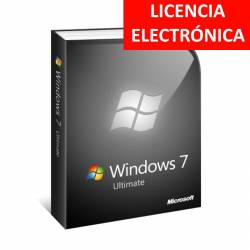 WINDOWS 7 ULTIMATE SP1 ESPAÑOL - LICENCIA ELECTRONICA (NO DVD - SOLO CLAVE)