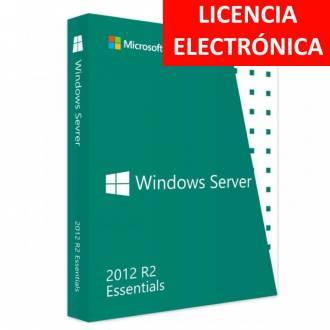 MICROSOFT WINDOWS SERVER 2012 R2 ESSENTIALS - LICENCIA ELECTRONICA (NO DVD - SOLO CLAVE)