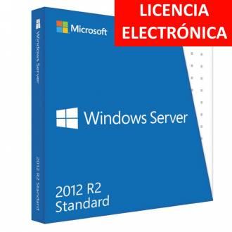 MICROSOFT WINDOWS SERVER 2012 R2 STANDARD - LICENCIA ELECTRONICA (NO DVD - SOLO CLAVE)