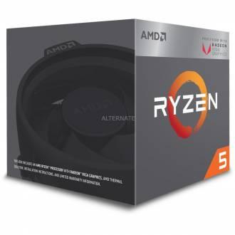MICROPROCESADOR AMD AM4 RYZEN 5 2400G 3.9GHz 4C 6MB VGA