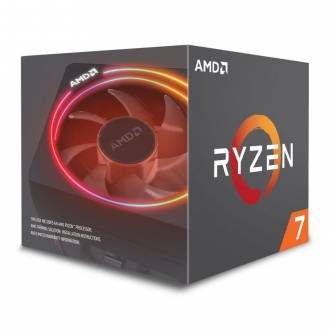 MICROPROCESADOR AMD AM4 RYZEN 7 2700X 4.35GHz 8C 20MB ¡NO VGA!