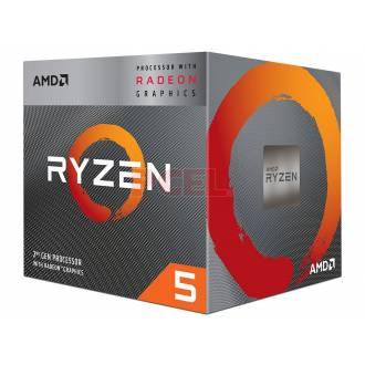 MICROPROCESADOR AMD AM4 RYZEN 5 3400G 3.7GHZ (4.20GHZ OC)