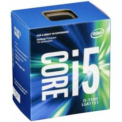 PROCESADOR INTEL 1151 I5-7500 3.4GHz 6MB BOX