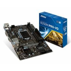 PLACA BASE MSI 1151 B250M PRO-VD 1151 2*DDR4 VGA DVI-D