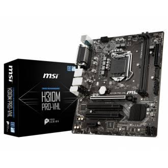 PLACA BASE MSI LGA1151 H310M PRO-VHL MATX DDR4 HDMI-VGA LPT SERIE