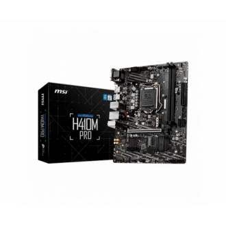 PLACA BASE MSI H410M PRO 1200 2*DDR4 DVI-D USB3 MATX